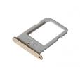GH98-35872C - Szufladka karty SIM Samsung SM-G925 Galaxy S6 Edge - złota (oryginalna)