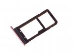 GH98-38787E - Szufladka karty SIM Samsung SM-G935F Galaxy S7 Edge - różowa (oryginalna)