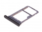 GH98-41921A - SIM and SD tray Samsung SM-N950FD Galaxy Note 8 Duos - black (original)