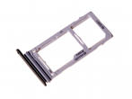 GH98-42575A - Szufladka karty SIM i SD Samsung SM-G965F/DS Galaxy S9 Plus Dual SIM - czarna (oryginalna)