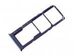 GH98-43612B - Szufladka karty SIM Samsung SM-A920 Galaxy A9 (2018)/ SM-A9200 Galaxy A9s - niebieska (oryginalna)
