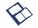 GH98-44303C - Oryginalna Szufladka karty SIM Samsung SM-A405 Galaxy A40 - niebieska