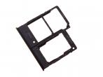GH98-44377A - Szufladka karty SIM Samsung SM-A202 Galaxy A20e - czarna (oryginalna)