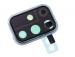 GH98-44763C - Obudowa kamery Samsung SM-A715 Galaxy A71 - niebieska (oryginalna)