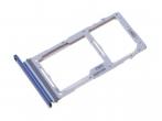 GH98-44992C - Oryginalna Szufladka karty Dual SIM Samsung SM-G770 Galaxy S10 Lite - niebieska