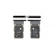 GH98-46258A - Oryginalna Szufladka karty SIM Samsung SM-G998 GALAXY S21 ULTRA (DUAL SIM) - CZARNA