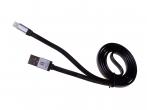 H-CLL1BB01 - Kabel lightning HEDO iPhone 5/ 5s/ 6/ 6s/ 7/ 8 certyfikat MFi - czarny (oryginalny)