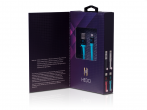 H-CLL1LL01 - cable HEDO for iPhone - blue (MFI certified)