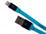 H-CLL1LL01 - Kabel lightning HEDO iPhone 5/ 5s/ 6/ 6s/ 7/ 8 certyfikat MFi - niebieski (oryginalny)