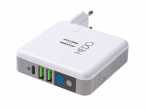 H-CRNEWGR01 - Adapter Powerbank ładowarka sieciowa HEDO 3w1 SUPER CHARGER EU (oryginalna)