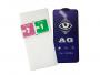 H-SPABRIP6PW - Szkło hartowane ANTI-BLUE Matowe HEDO 0.3mm iPhone 6 Plus/ 6S Plus - białe (oryginalne)