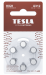 Hearing Aid batteries TESLA A312/PR41/1,45V 6pcs