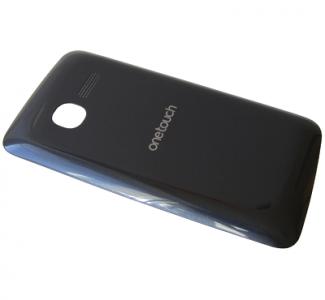 - Klapka baterii Alcatel OT 4010/ 4010D - czarna (oryginalna)