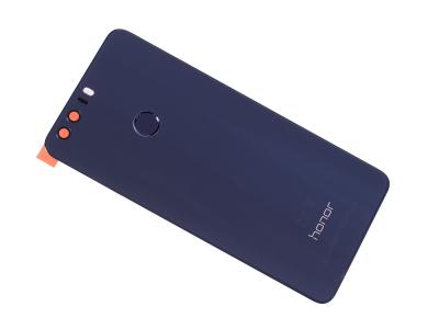 02350XYX, 02350YMY - Klapka baterii Huawei Honor 8 - niebieska (oryginalna)