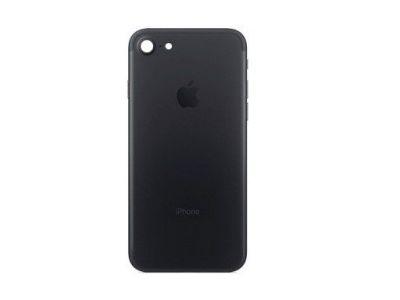 - Klapka baterii iPhone 7  i  podzespoły black mat ( Bez imei)