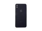 Klapka baterii iPhone X + szkiełko aparatu czarna