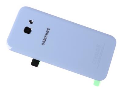 GH82-13638C - Klapka baterii Samsung SM-A520F Galaxy A5 2017/ SM-A320F Galaxy A3 2017 -  niebieska (oryginalna)
