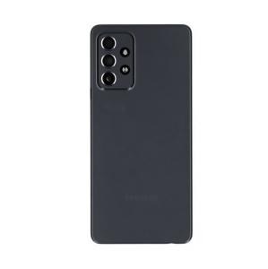 Klapka baterii + szkiełko kamery Samsung SM-526 Galaxy A52 5G czarna