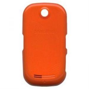 5034 - Klapka tylna Samsung S3650 CORBY pomarańczowa ORY