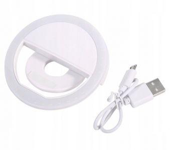 LAMPKA SELFIE RING LIGHT LED do telefonu