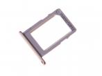 MBN64704604 - Szufladka karty nanoSIM LG M320 X Power 2 - złota (oryginalna)
