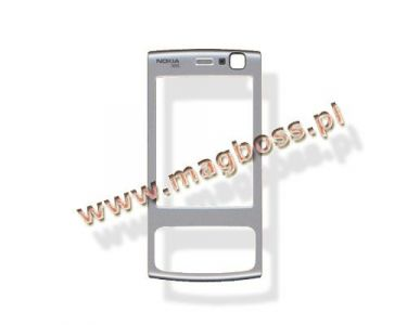 0256841 - Obudowa (Część-A) Nokia N95 - srebrna (oryginalna)