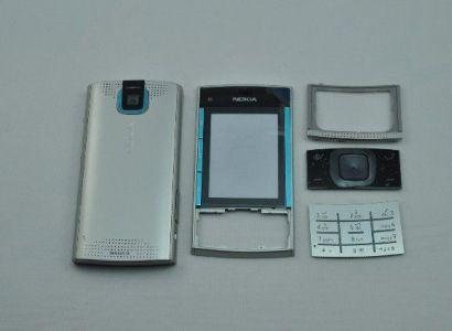 10763 - Obudowa Nokia X3-00 niebieska