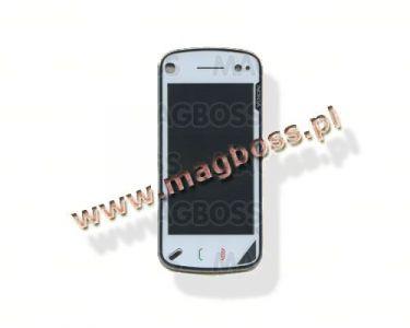 0254604 - Obudowa (przód + ekran dotykowy) Nokia N97 - biała (oryginalna)