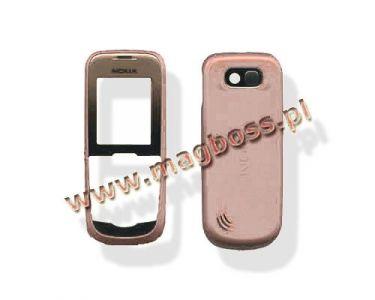 0250947, 0250954 - Obudowa (przód+klapka) Nokia 2600c - pomarańczowy (oryginalna)