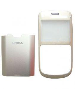 0257693, 0257694 - Obudowa (przód+klapka) Nokia C3-00 - złota (oryginalna)