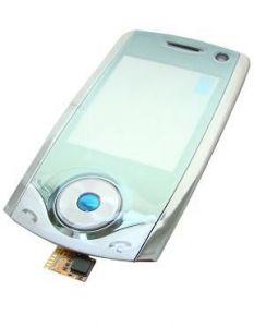 - Obudowa (przód) Samsung U700 - srebrna (oryginalna)