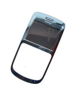 255960 - Obudowa przednia Nokia C3-00 - slate (oryginalna)