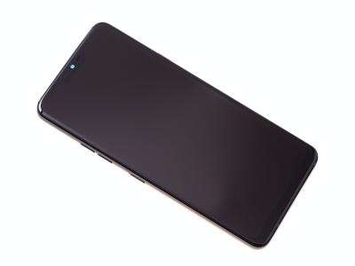 ACQ90244551 - Obudowa przednia z ekranem dotykowym i wyświetlaczem LG G710 G7 ThinQ - czarna (oryginalna)