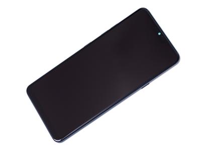 ACQ90244552 - Obudowa przednia z ekranem dotykowym i wyświetlaczem LG G710 G7 ThinQ -  niebieska (oryginalna)