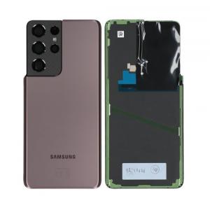 GH82-24499E - Oryginalna Klapka baterii Samsung SM-G998 GALAXY S21 ULTRA - BRĄZOWA