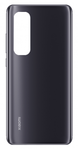 550500006O1L-DEM - Oryginalna Klapka baterii Xiaomi Mi Note 10 Lite - czarna (demontaż) Grade A