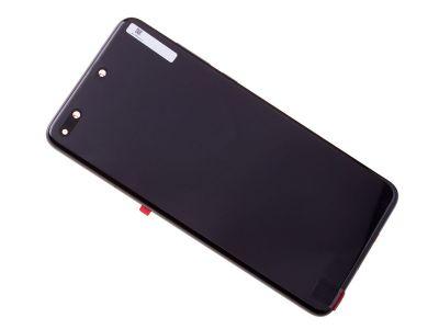 02353MFA - ORYGINALNY Wyświetlacz LCD + ekran dotykowy Huawei P40 - czarna