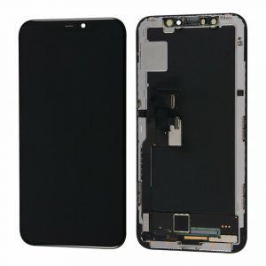 Oryginalny Wyświetlacz LCD + ekran dotykowy Iphone X demontaż (dotyk - 4 bit)