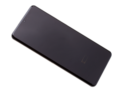 GH82-26032A, GH82-26033A - Oryginalny Wyświetlacz LCD + Ekran dotykowy Samsung SM-G988 Galaxy S20 Ultra - czarny ( bez kamery)