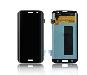 - Oryginalny  wyświetlacz LCD + ekran dotykowy G935 S7 Edge czarny (wymieniona szyba)