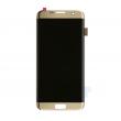 Oryginalny  wyświetlacz LCD + ekran dotykowy G935 S7 Edge złoty (wymieniona szyba)