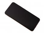 Oryginalny Wyświetlacz LCD + ekran dotykowy Huawei Mate 20  lite złoty z ramką i baterią