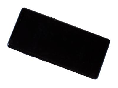 - Oryginalny wyświetlacz LCD + ekran dotykowy Samsung N950 Note 8 niebieski