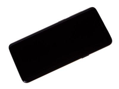 GH97-21696A - ORYGINALNY Wyświetlacz LCD + ekran dotykowy Samsung SM-G960 Galaxy S9 / SM-G960F / DS Galaxy S9 Dual SIM - czarna (oryginalna)