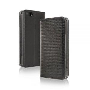 - Pokrowiec Smart Magnet Samsung A6 Plus 2018 czarny