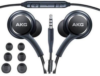 - Słuchawki  przewodowe Samsung AKG EO-IG955 czarne (bulk)
