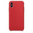 Silicone case iPhone XS red