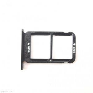 - Szufladka karty DUAL SIM Huawei Honor 10 czarna
