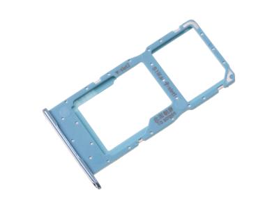 51661KXM - Szufladka karty SIM Huawei Honor 10 Lite - light blue (oryginalna)