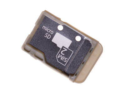 305A24S0300, U50057311 - Szufladka karty SIM i SD Sony H4113, H4133 Xperia XA2/ I3113, I3123, I4113, I4193 Xperia 10 (oryginalna)